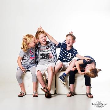 groepsfoto kinderen studiofotografie Zutphen Pascale Drent Fotografie