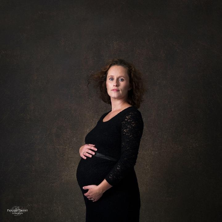 Zwangerschapsfotografie Pascale Drent Zutphen studiofotografie