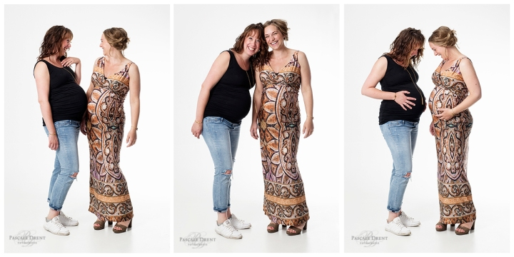 zwangerschap fotografie dikke buik vriendinnenshoot studiofotografie zutphen